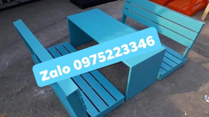 Bàn ghế gỗ bệt nhiều mẫu đa màu..0
