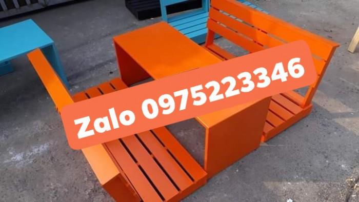 Bàn ghế gỗ bệt nhiều mẫu đa màu..1