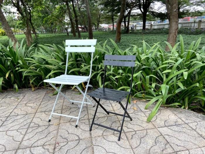 Bàn ghế sắt mỹ nghệ nhiều màu rẻ và đẹp1