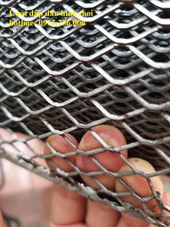 Chuyên sản xuất lưới dập giãn hình thoi ô 10x20mm.. làm theo yêu cầu0