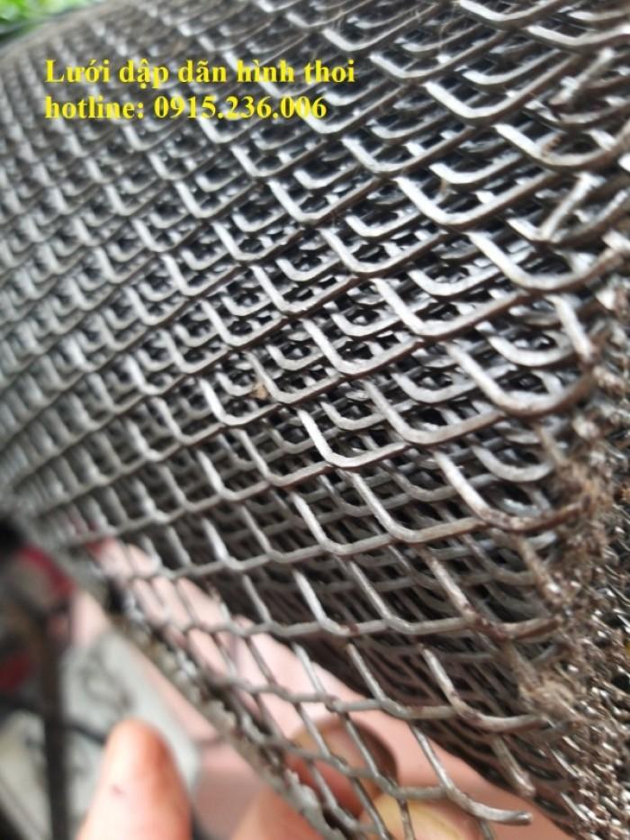 Chuyên sản xuất lưới dập giãn hình thoi ô 10x20mm.. làm theo yêu cầu2