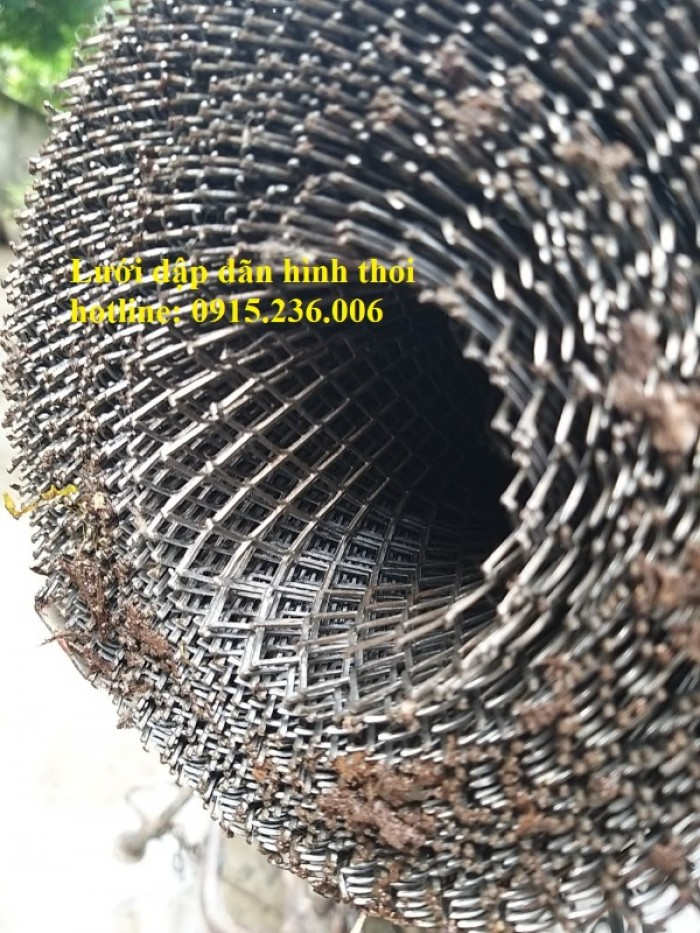 Chuyên sản xuất lưới dập giãn hình thoi ô 10x20mm.. làm theo yêu cầu5