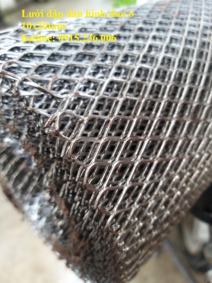 Chuyên sản xuất lưới dập giãn hình thoi ô 10x20mm.. làm theo yêu cầu1
