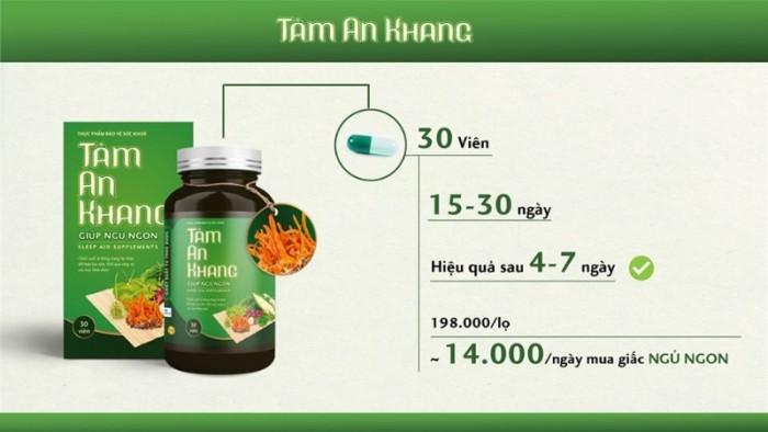 Viên Uống Thảo Dược Tâm An Khang5