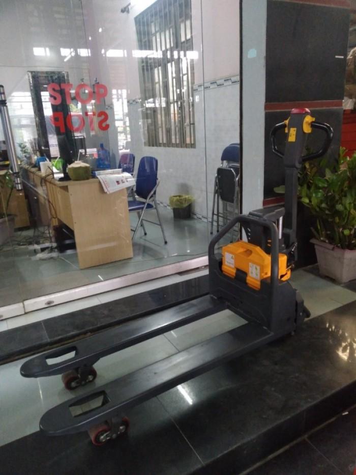 Xe nâng điện thấp đi bộ lái Xilin0