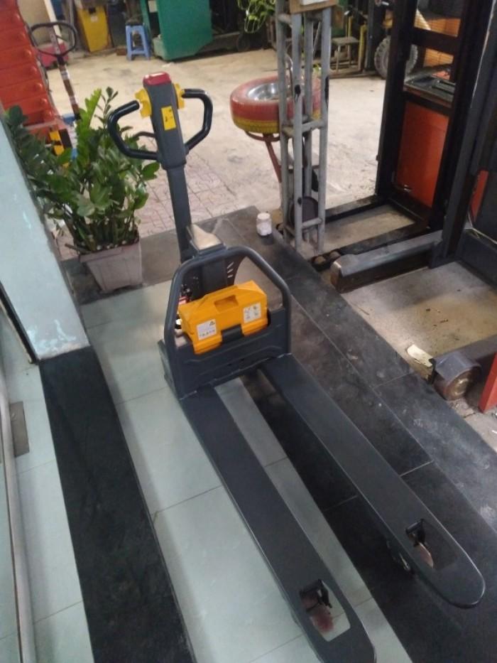 Xe nâng điện thấp đi bộ lái Xilin1