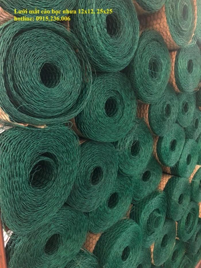Lưới mắt cáo, lưới mắt cáo bọc nhựa, lưới mắt cáo mạ kẽm hàng sẵn kho2