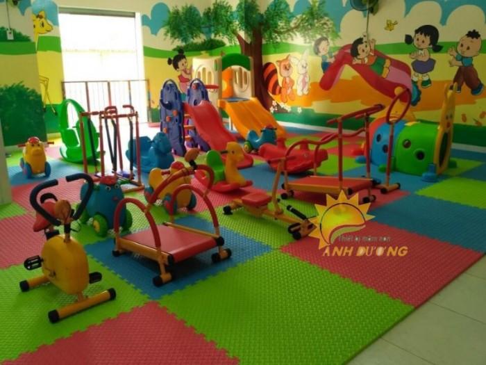 Thảm xốp lót sàn nhiều màu sắc cho trường lớp mầm non, gia đình6