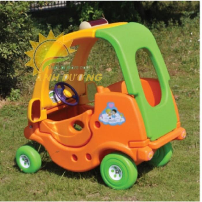 Chuyên bán xe chòi chân 4 bánh có mái che siêu đáng yêu cho trẻ em2