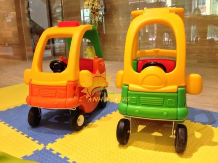 Chuyên bán xe chòi chân 4 bánh có mái che siêu đáng yêu cho trẻ em4