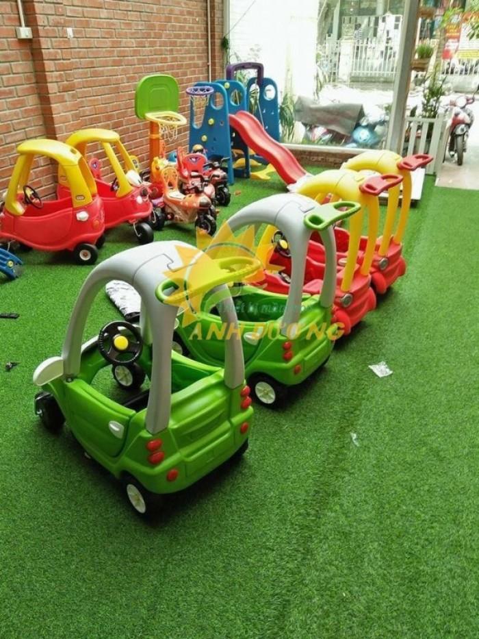Chuyên bán xe chòi chân 4 bánh có mái che siêu đáng yêu cho trẻ em6