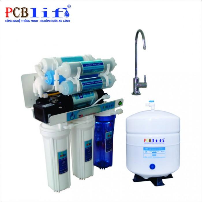 Máy lọc nước PCBlife Vỏ gỗ PCB8-VG1