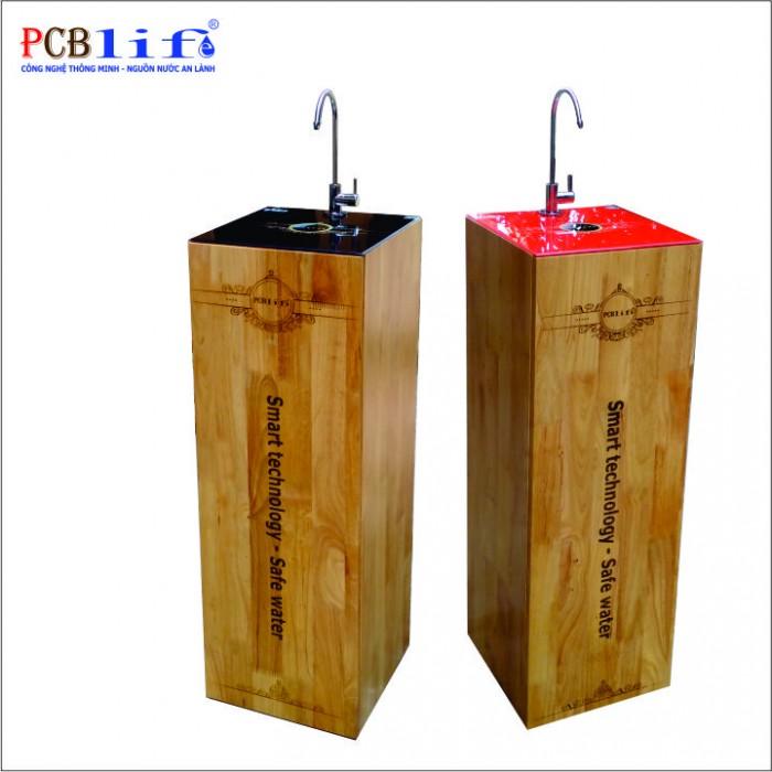 Máy lọc nước PCBlife Vỏ gỗ PCB8-VG2