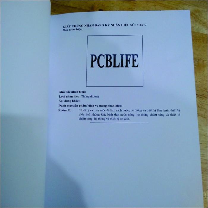 Máy lọc nước PCBlife Vỏ gỗ PCB8-VG4