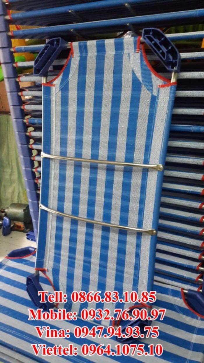 Giường mầm non vải lưới7