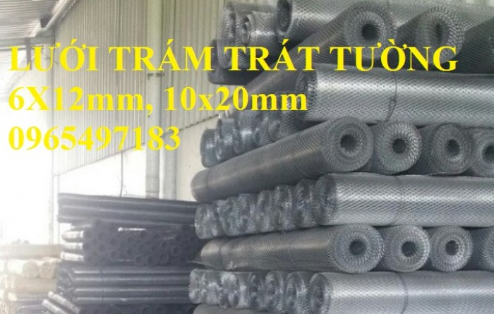 Lưới trám trát tường ô 6x12mm, 10x20mm. Hàng có sẵn số lượng lớn giá tốt1
