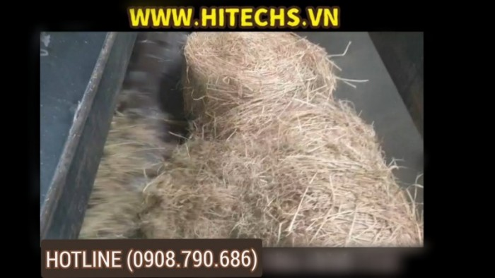 Máy Nghiền cuộn Rơm rạ lớn 10 tấn Hitech