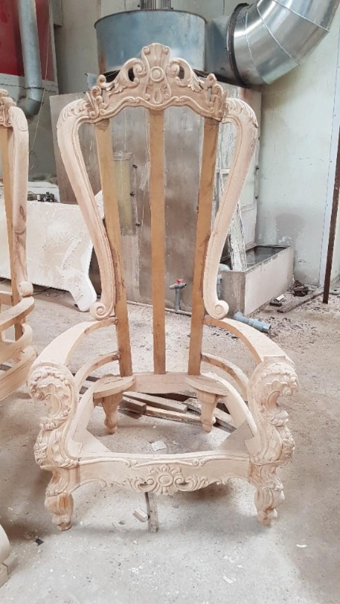 Khung ghế nữ hoàng 5