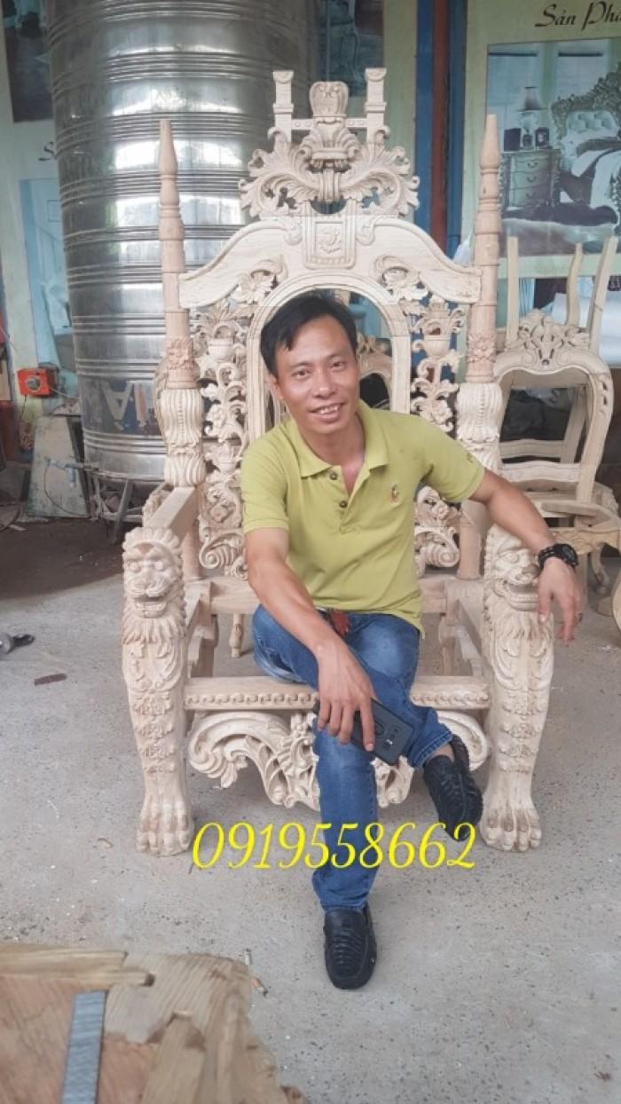 Bán Khung ghế vua6