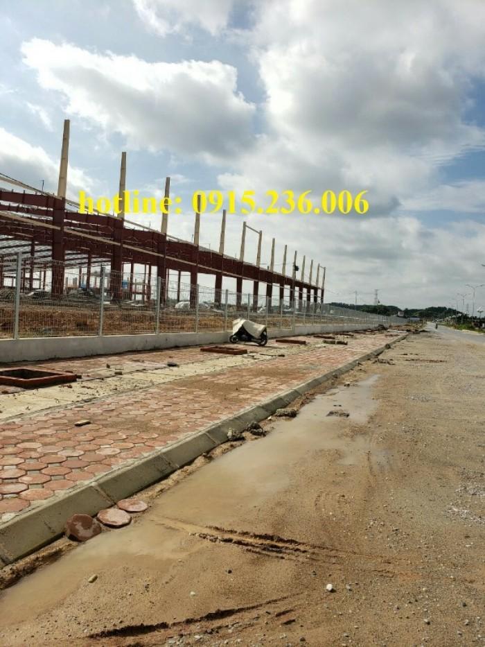 Thi công hàng rào lưới thép tại công trình Sông Công II - Thái Nguyên5