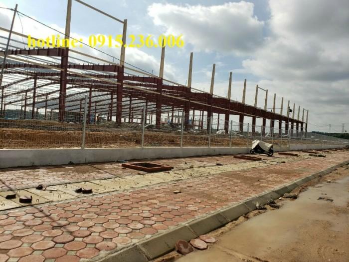 Thi công hàng rào lưới thép tại công trình Sông Công II - Thái Nguyên3