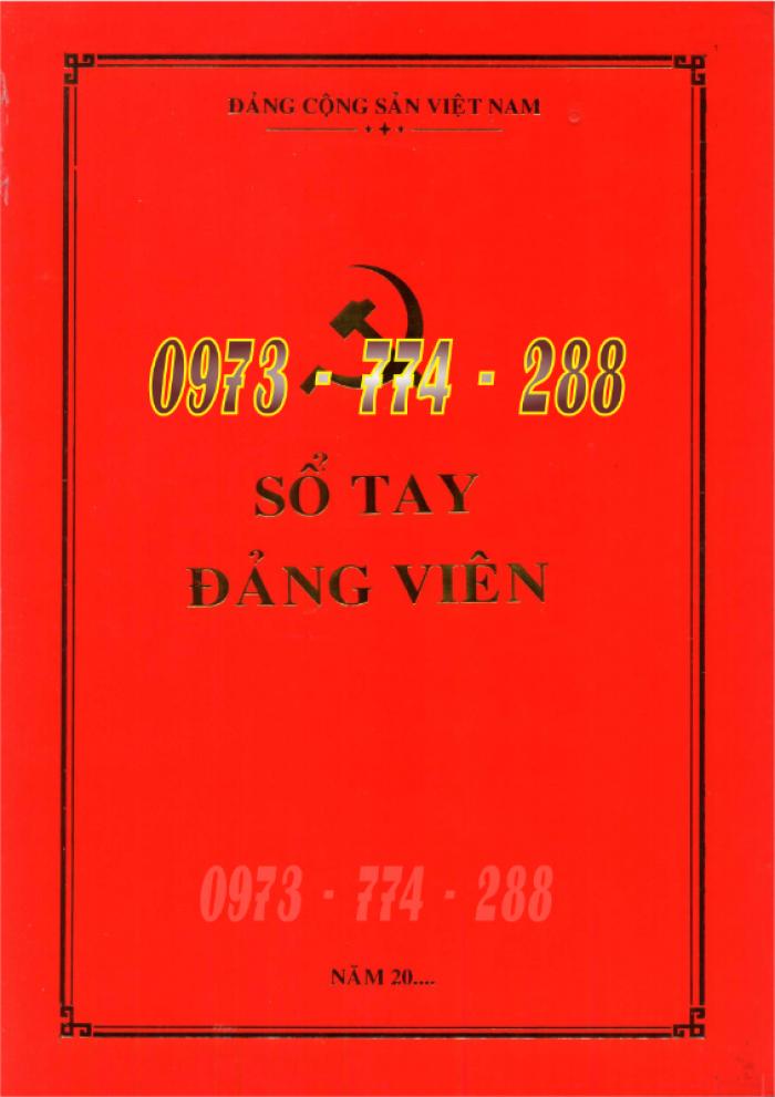 Bán quyển lý lịch của người xin vào Đảng26