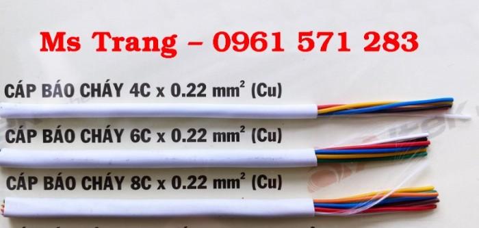 Cáp báo cháy 0.22 mm2 - Cáp tín hiệu 0.22 mm21
