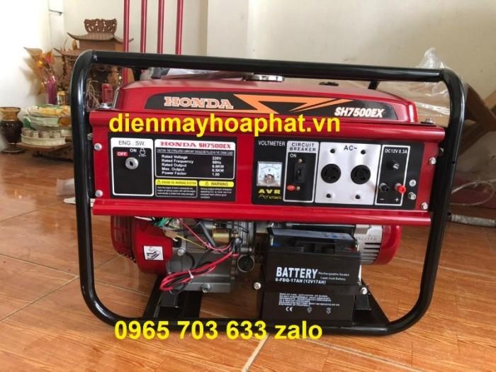 Máy phát điện Honda 7kw SH7500EX chạy xăng dùng gia đình, nhà xưởng.0