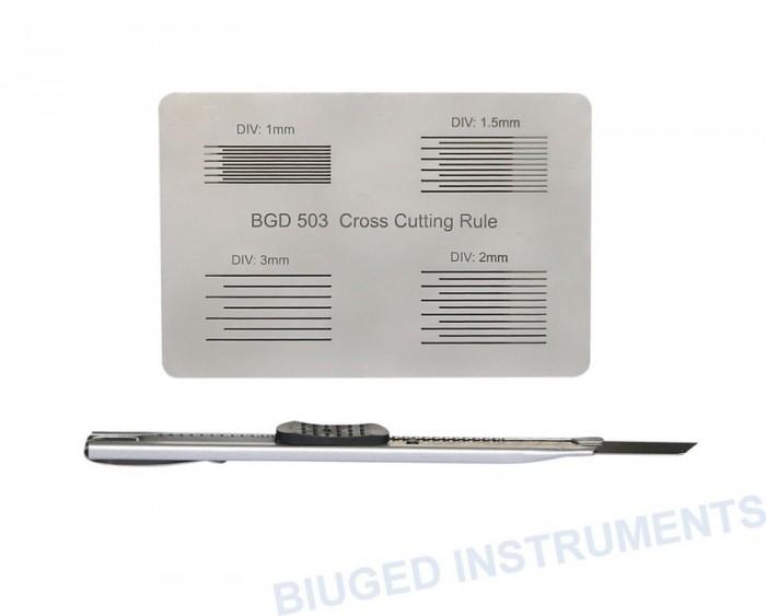 Thước đo độ bám dính màng sơn  Biuged BGD 5030