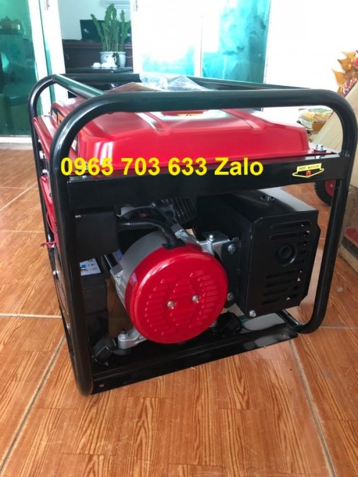 Máy phát điện Honda 7kw SH7500EX chạy xăng dùng gia đình, nhà xưởng.1