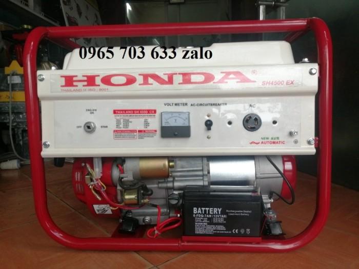 Máy phát điện 3,5kw dùng gia đình SH4500EX Honda0