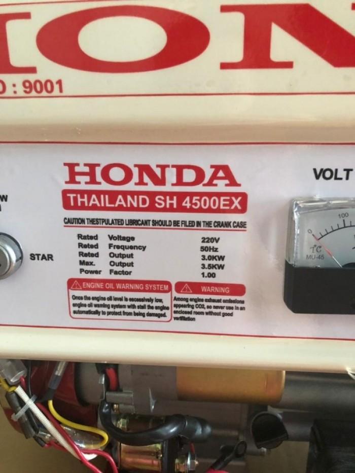 Máy phát điện 3,5kw dùng gia đình SH4500EX Honda1