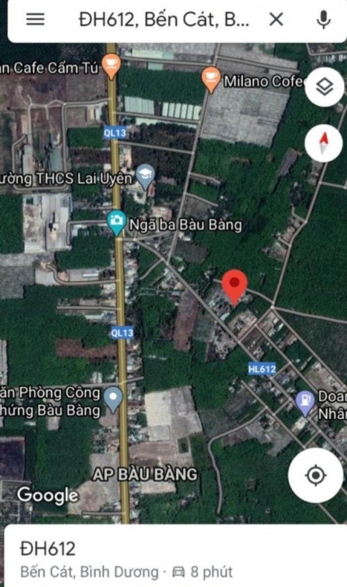 Bán đất Tân Hưng, Bàu Bàng, DT:150m2, SHR, giá 550 triệu. Liên hệ: 0937.220.80