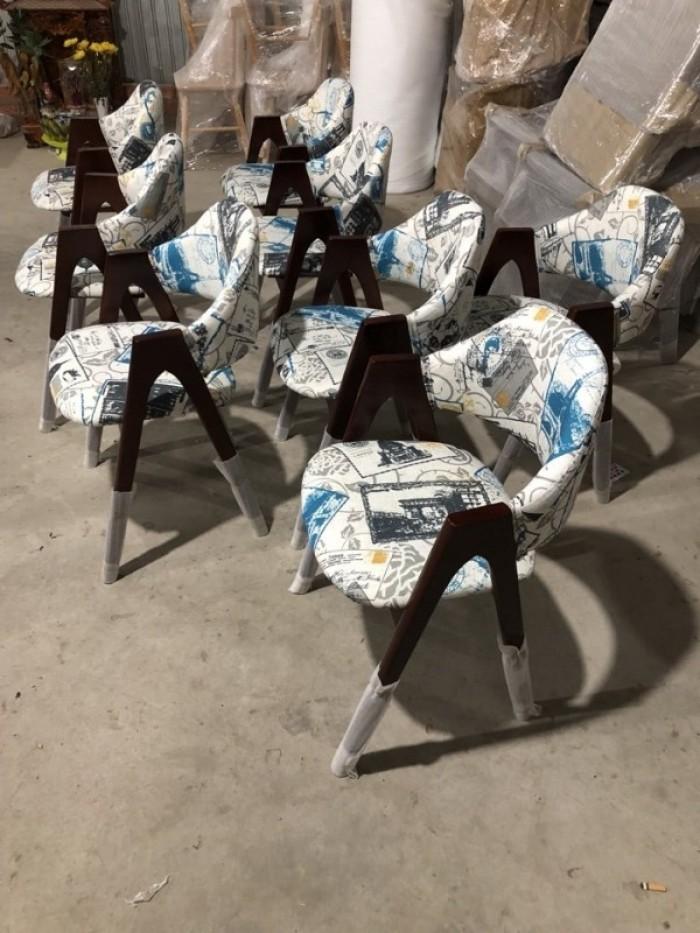 Ghế chữ A gỗ tự nhiên bọc nệm sản xuất bán giá tại xưởng..0