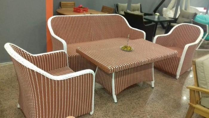Sản xuất bàn ghế nhựa giả mây, bàn ghế sắt các loại, sản phẩm cty làm ra2