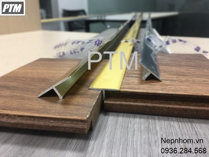 Nẹp nhôm T ứng dụng nối sàn gỗ 2