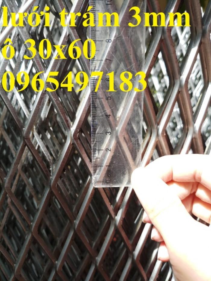 Lưới trám, lưới hình thoi,  dùng làm vách ngăn, trang trí,sàn thao tác7
