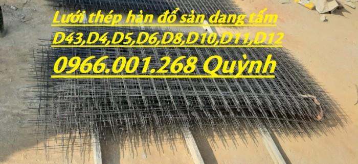 Chuyên sản xuất lưới thép hàn cường lực phi 4,phi 5,phi 6 đến phi 12 giá rẻ0