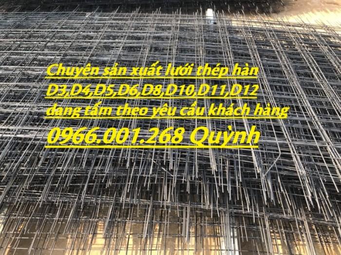 Chuyên sản xuất lưới thép hàn cường lực phi 4,phi 5,phi 6 đến phi 12 giá rẻ2