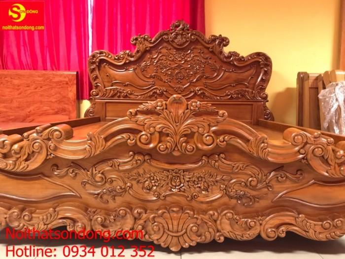 Giường Ngủ cổ điển vip nhất hiện nay tại Tân Phú2