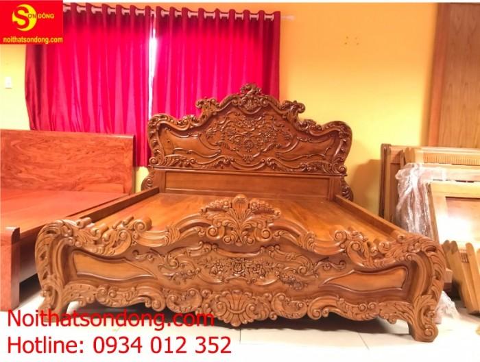 Giường Ngủ cổ điển vip nhất hiện nay tại Tân Phú0
