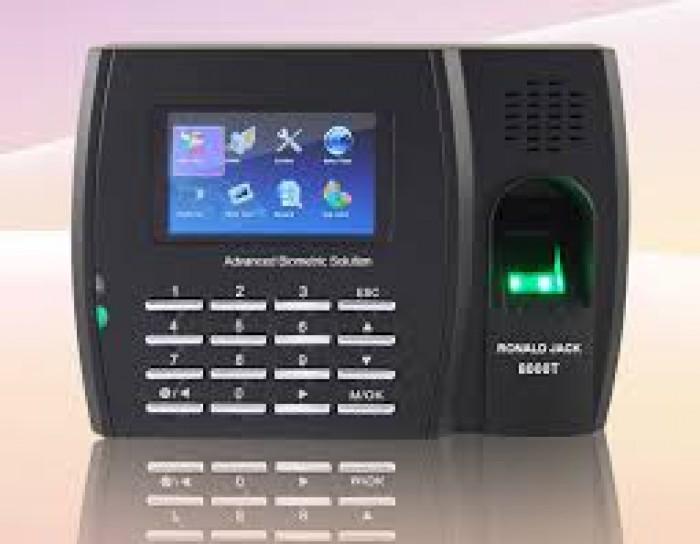 Máy chấm công Ronald jack 5000 TC wifi -Phân Phối Chính Hãng0
