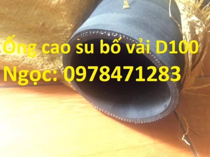 Chuyên cung cấp ống cao su bố vải D 50, D75, D100, D150, D200 dẫn khí nén.0