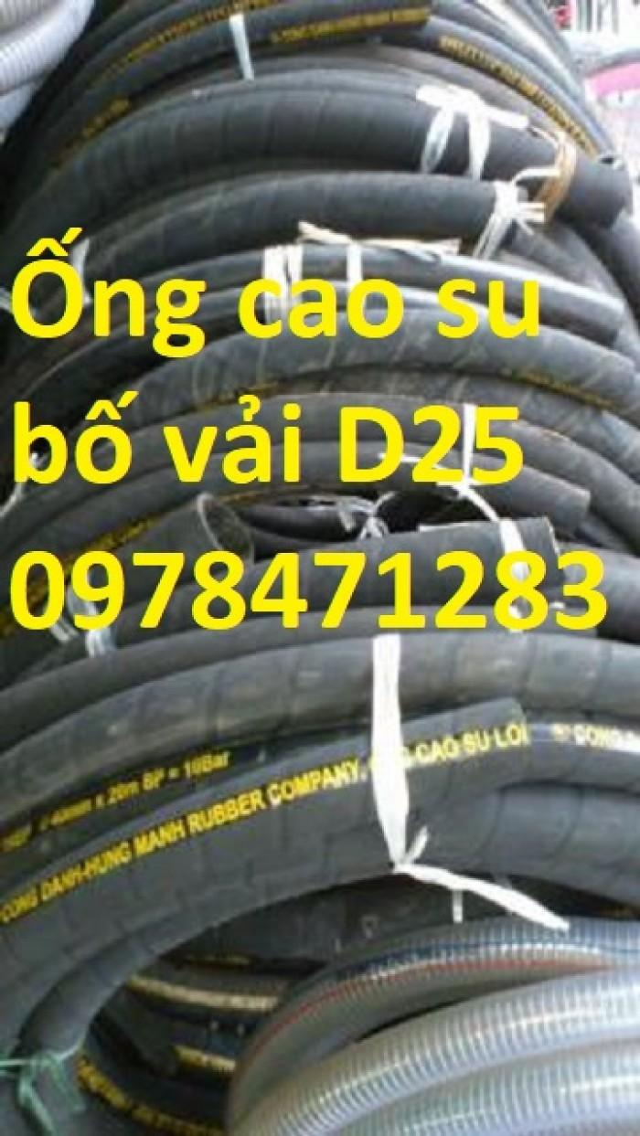 Chuyên cung cấp ống cao su bố vải D 50, D75, D100, D150, D200 dẫn khí nén.5