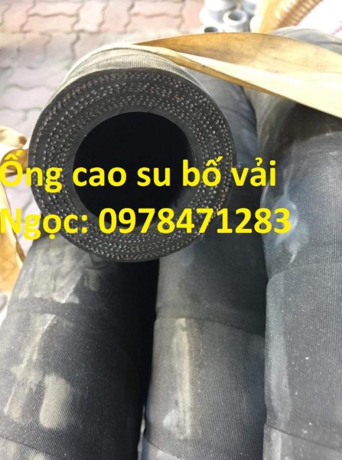 Chuyên cung cấp ống cao su bố vải D 50, D75, D100, D150, D200 dẫn khí nén.4