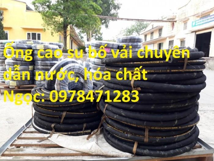 Chuyên cung cấp ống cao su bố vải D 50, D75, D100, D150, D200 dẫn khí nén.1