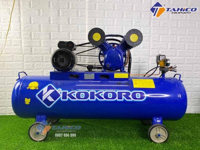 Máy nén khí dây đai 3hp Kokoro ở Gia Lai2
