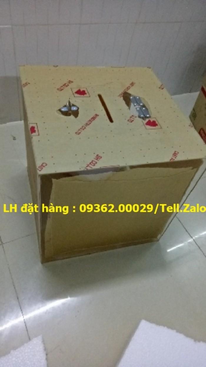Hộp bỏ phiếu mica vuông có sẵn tại Hà Nội16