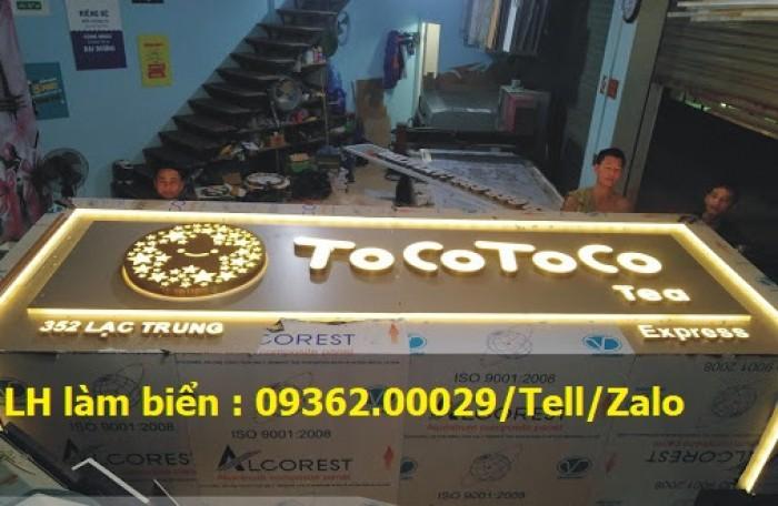 Nhận thi công lắp đặt biển quảng cáo giá rẻ  tại Hà NỘi1