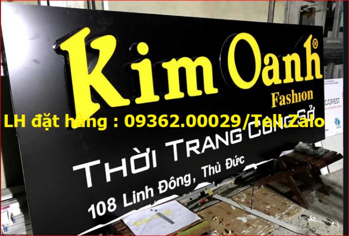 Nhận thi công lắp đặt biển quảng cáo giá rẻ  tại Hà NỘi0